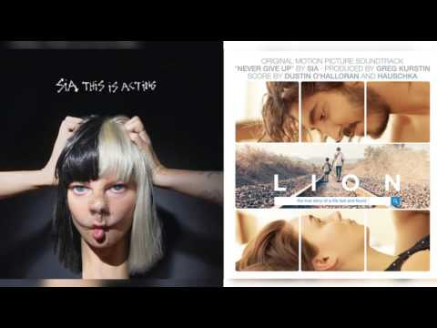 Sia - Cheap Thrills/Never Give Up (Mashup)