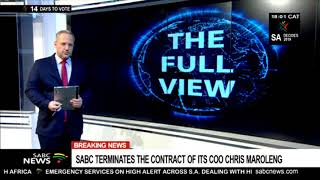 BREAKING NEWS: SABC terminates Chris Maroleng's contract