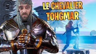 FORTNITE : ON M'APPELLE TOHGMAR LE CHEVALIER À L'ÉPÉE CHEATÉE