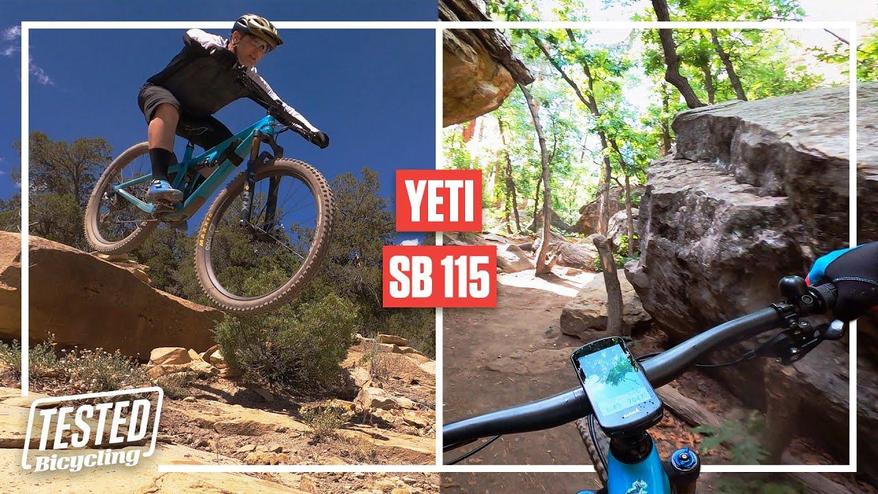 YETI SB 115 | TESTED UNCUT | Bicycling