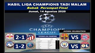 Hasil Liga Champions Tadi Malam Perempat Final - Hasil Leibzig VS Atletico Madrid Perempat Final