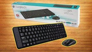 ⌨️ клавиатура logitech gaming wireless combo MK220 Black review