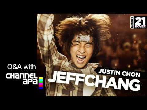 Justin Chon interview about 21 And Over and his character Jeff Chang
