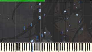 Sad Piano Music - Behind A Smile | Synthesia Piano Tutorial