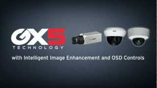 About Ganz High Performance Cameras with GX5 Technology