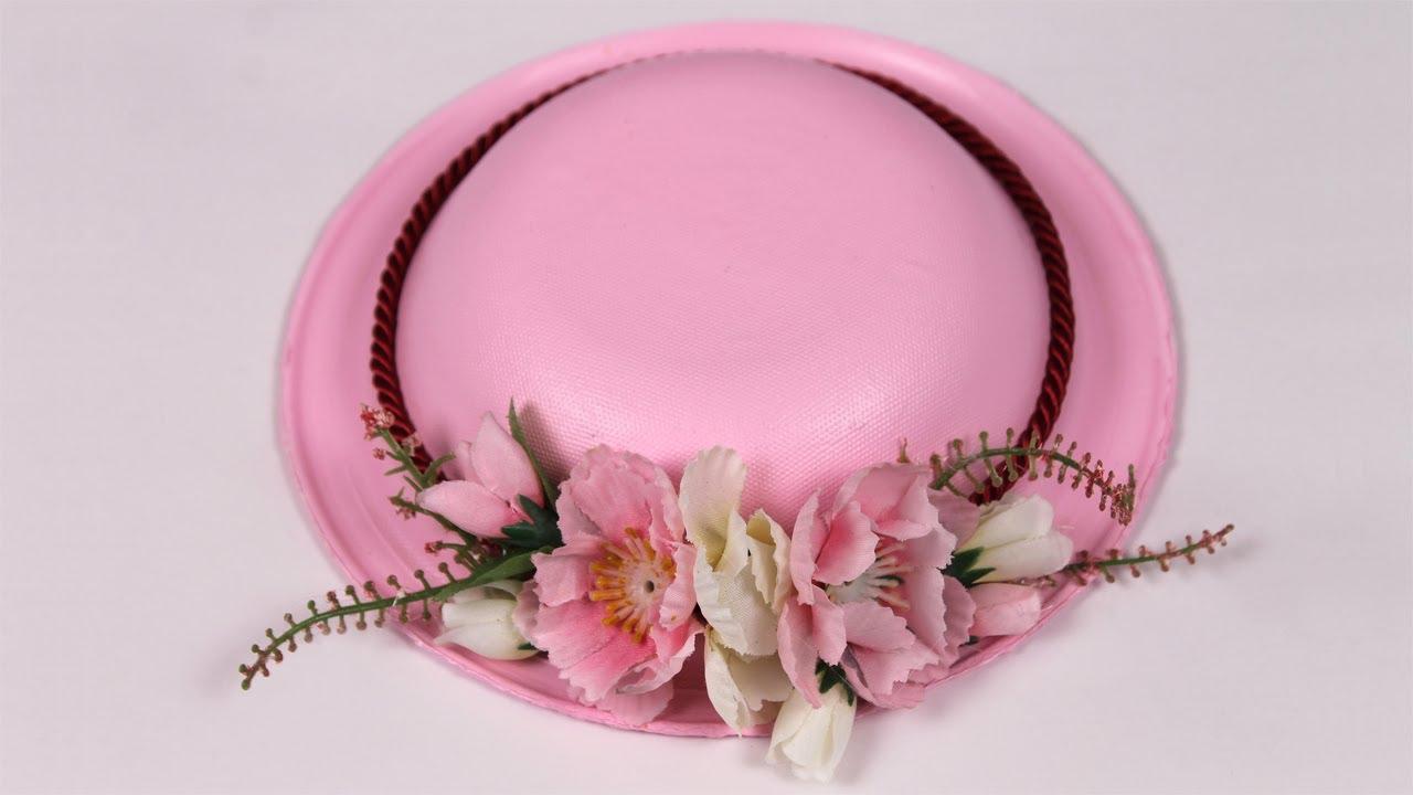 Favori Cadeau fête des mères: Chapeau à pot-pourri - YouTube YN47