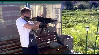 Страйкбольный пулемет