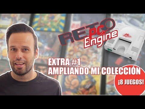 Reto PC-ENGINE EXTRA #1: Ampliando mi colección - 8 JUEGOS