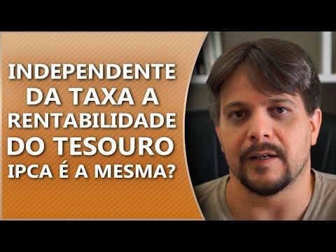 #PergunteaoBona - Independente da taxa a rentabilidade do tesouro IPCA é a mesma?
