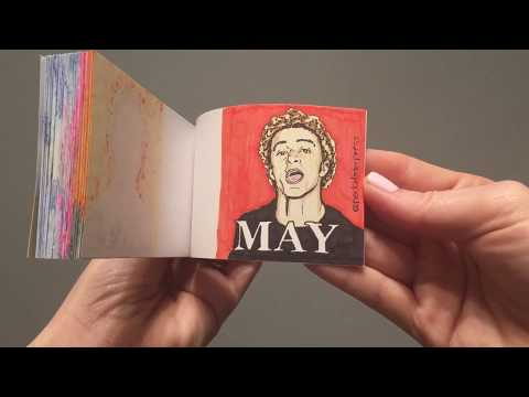 *NSYNC It's Gonna Be May- hand-drawn Flipbook
