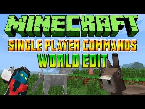 Como Instalar Mods No Minecraft 1.6.2 #11 - Single Player Commands (SPC) + WorldEdit