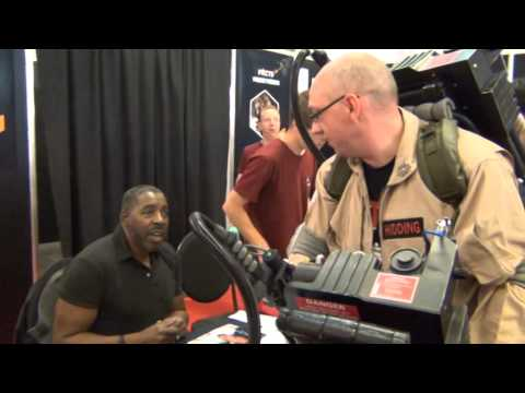 GHOSTBUSTERS DUTCH DIVISION F.A.C.T.S. GENT BELGIUM SIGNING & PHOTOSHOOT ERNIE HUDSON
