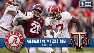 Alabama vs. Texas A&M Recap: No.1 Tide flex strengths as Aggies offer little resistance | CBS Sport