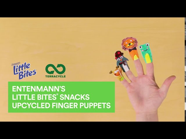 Entenmann's Little Bites® Snacks Finger Puppets | TerraCycle® DIY