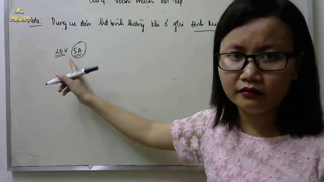 [ Vật lý 9 ] Bài 4 – Đoạn mạch nối tiếp ( giải bài tập SGK )