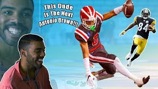 This Dude Is The Next Antonio Brown - Amon-Ra St Brown Highlights Reaction  Sharpe Sports