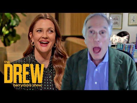 Drew Tells Henry Winkler How He Changed Her Life