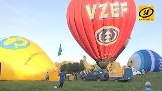 Шоу воздушных шаров в Минске: репортаж с высоты тысячи метров