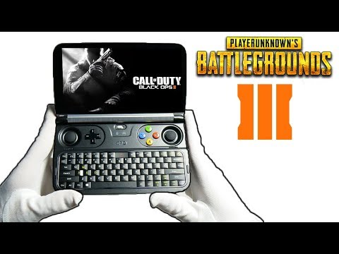 BO2, BO3 & PUBG ON SMALLEST GAMING LAPTOP EVER! GPD WIN 2 Call of Duty Black Ops 2 3 Gameplay