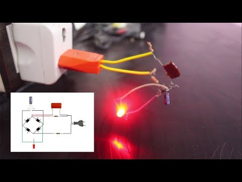 How To Connect LED Light To 220v Ac