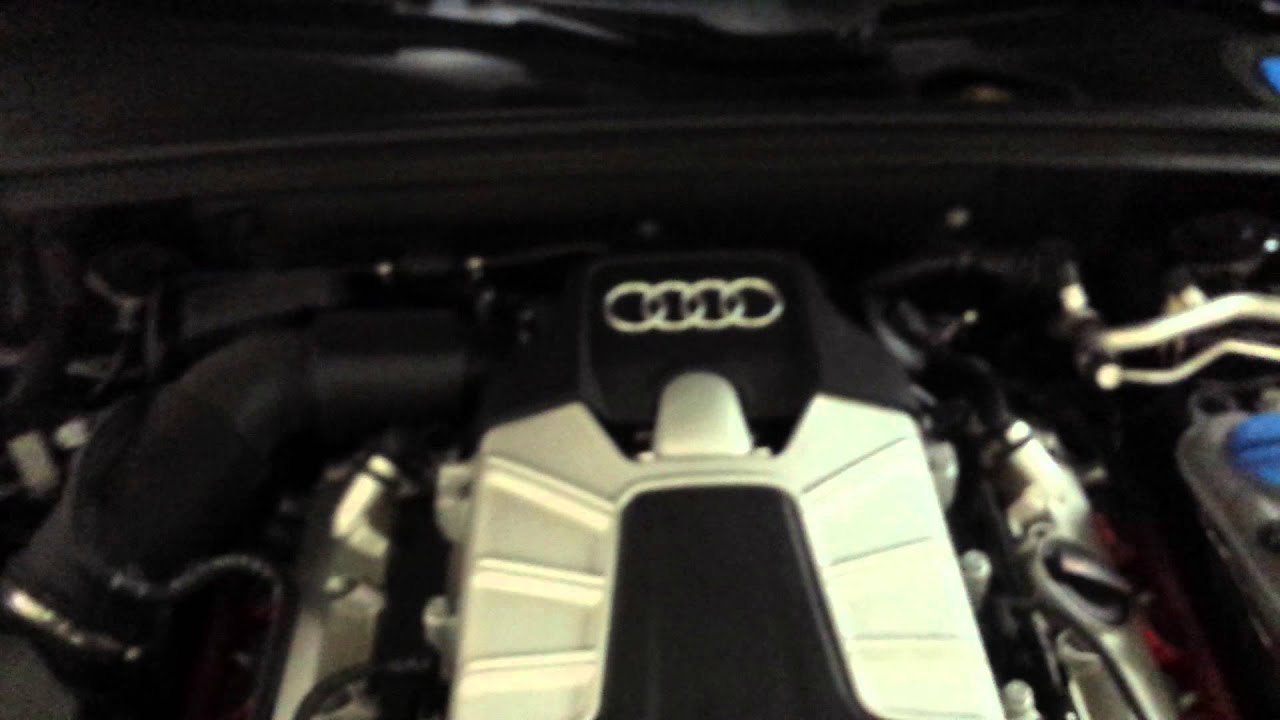 Wtf Is This Clicking Noise In Engine Bay For Audi B8 S4 Youtube