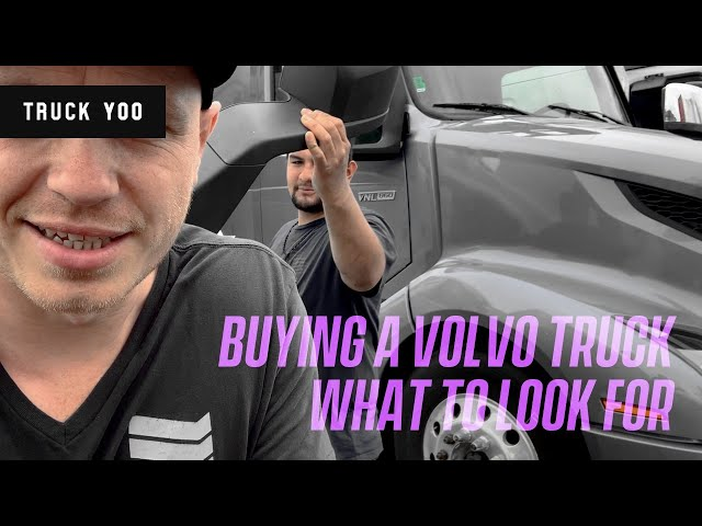 Buying a Volvo D13 Truck. What to look for. Part 2