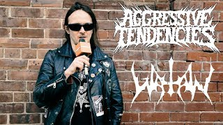 Erik Danielsson of Watain talks politics and nazi ideology in black metal | Aggressive Tendencies