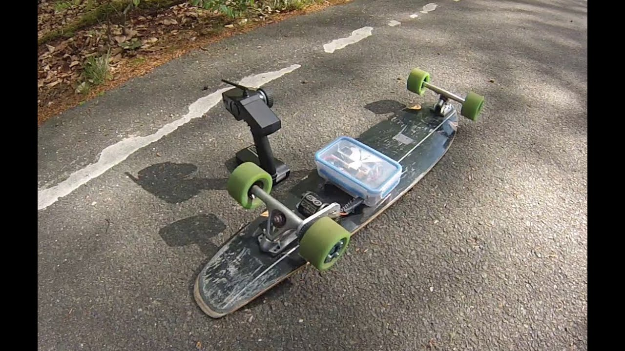 40 Km H Diy Electric Longboard Youtube