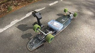 40 km h diy electric longboard