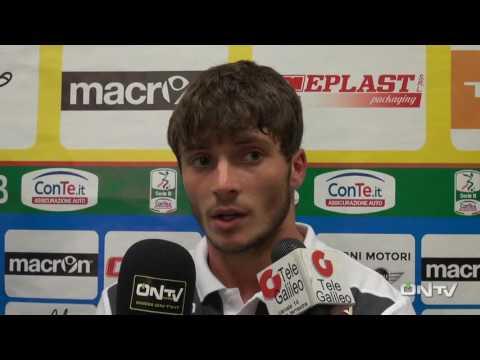 ONTV: Intervista a Simone Palombi post Ternana-Pordenone (2-0)