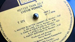 Cash In Your Face - Stevie Wonder (LP