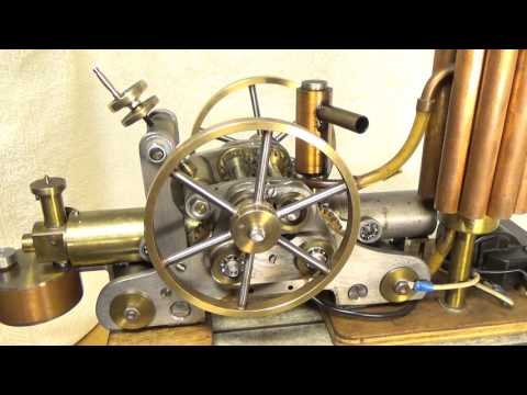 Model 2 Stroke Opposed Piston Engine Variable Compression