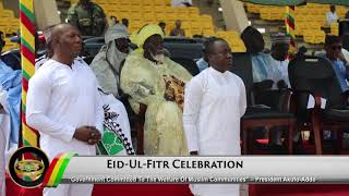 Presidential Diary: EID-UL-FITR Celebrations & Takoradi Port Expansion