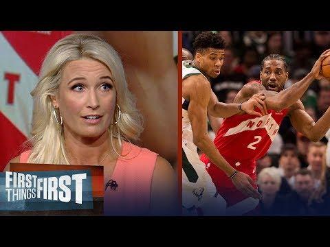Kawhi Was Masterful In Game 5, Raptors Take Lead Over Bucks - Kustok | NBA | FIRST THINGS FIRST