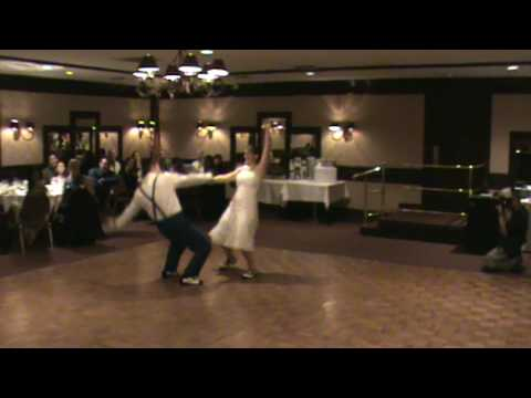 Brian And Jen Wedding Swing Dance San Diego Youtube