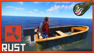 Rust What's Coming | Row Boat Live on Staging Branch, In Game Look #121 (Rust News & Updates)