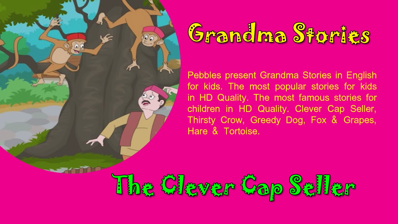 Chatur Topiwala | Clever Cap Seller | Chan Marathi Goshti | Grandma Marathi  Stories For Kids HD