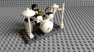 How to make a LEGO drum set
