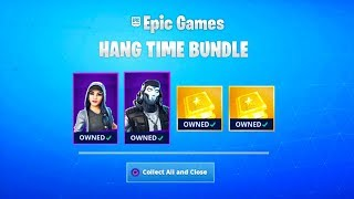 How To Get MICHAEL JORDAN SKIN in Fortnite (FREE HANG TIME REWARDS in Fortnite)HANG TIME SKIN BUNDLE