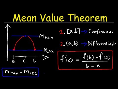 mean-value-theorem
