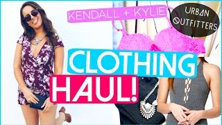 Spring Clothing Haul 2016! | (Kendall + Kylie, Urban Outfitters)