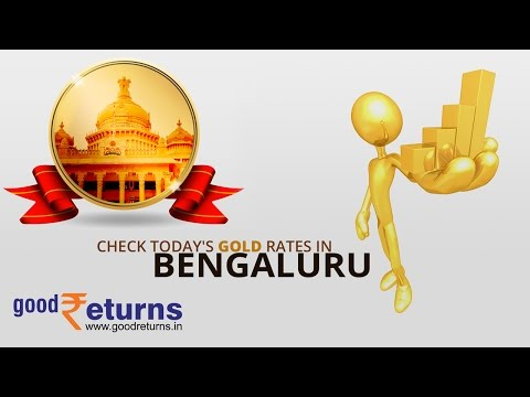 Todays Gold Rate in Bangalore, 22 & 24 Carat Gold Price on