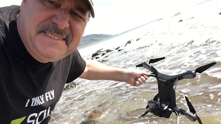 I crashed my 3DR Solo into the Pacific Ocean!