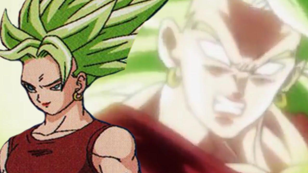 The Female Super Saiyan Green Hair