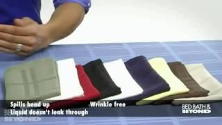 Origins Microfiber Tablecloth And Napkins At Bed Bath & Beyond