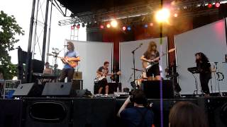 Dirty Projectors Cannibal Resource Live Pitchfork 2012