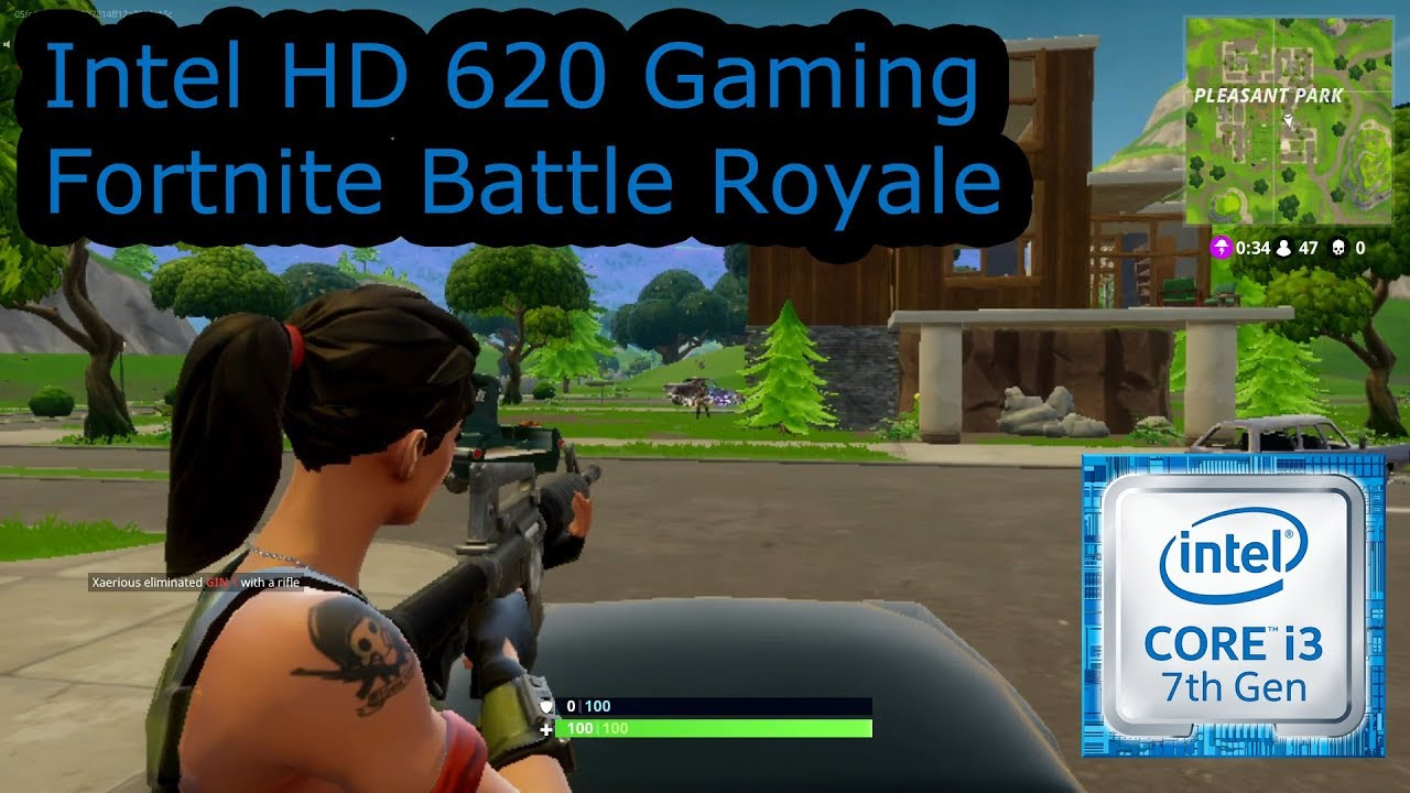 Pubg With Intel Hd Graphics 620: Fortnite Battle Royale Intel Hd 3000