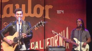 Andy Grammer and NAMM 2017