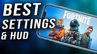 best settings for fortnite mobile