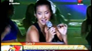 "Calle 7 - Philippe Trillat - Denise Rosenthal canta ""Men"" 17.02.11"